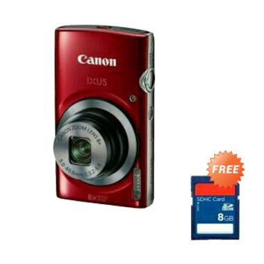 Canon Ixus 185 Kamera Pocket [20.0 MP] + Free SDHC [8GB]