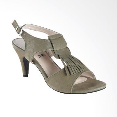 Lakeisha H_09_17 Tulip Sepatu Heels Wanita - Green