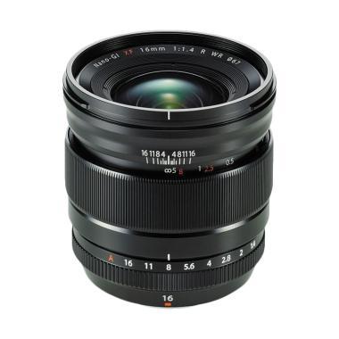 Fujifilm XF 16mm f/1.4 R WR Lensa Kamera - Hitam