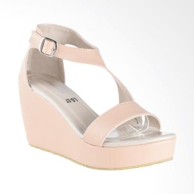 Lakeisha W_26_17 Candytuft Sepatu Wedges Wanita - Beige
