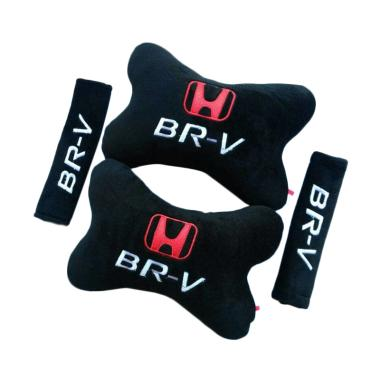 harga Indonesia Motor Motif Honda BR-V Set Aksesoris Interior Mobil - Black Blibli.com