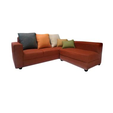 Creova Teracota Series Sofa L Bantal Warna Warni