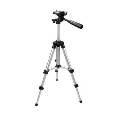 iBegu Profesional Mini Tripod for Digital Camera - Black Silver