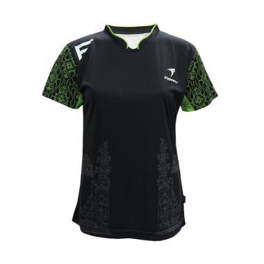 Flypower Batur Kaos Badminton Wanita - Black