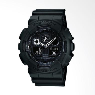 Casio G-Shock Analog Digital Jam Tangan Pria - Hitam [GA-100-1A1DR]