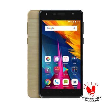 POLYTRON T6 SE R2509SE Smartphone - Gold [1 GB/16 GB/5 MP/5.0 Inch]