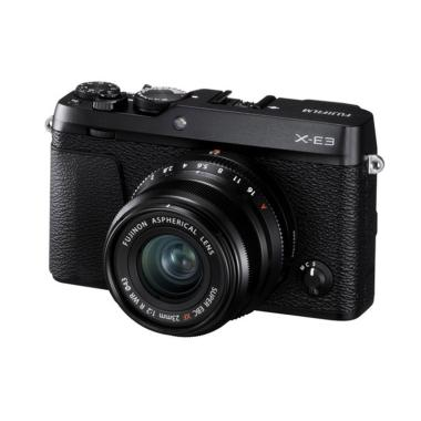 Fujifilm X-E3 Kit 23mm F/2 Black +  ... are SP3, charger&NP-W126S
