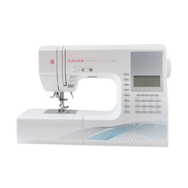 SINGER 9960 Quantum Stylist Portable Digital Mesin Jahit