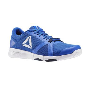 Reebok Flexile Mens Shoes Sepatu Lari Pria - Blue [BS8046]