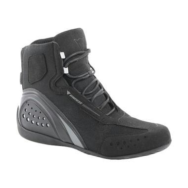Dainese Motor Shoe D-WP Sepatu Boots Pria - Black Anthracite