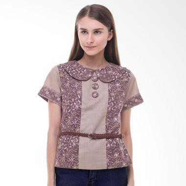 Arya Putri Batik Azna ATS-096-BR Baju Batik