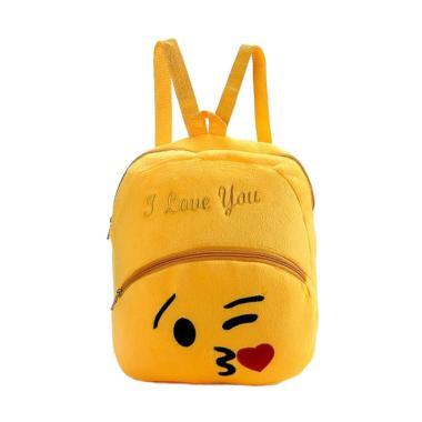 Lansdeal WSJ60707162F Emoji Emotico ... ild Bag Backpack Tas Anak