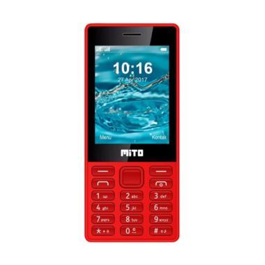 Mito 195 Handphone - Merah