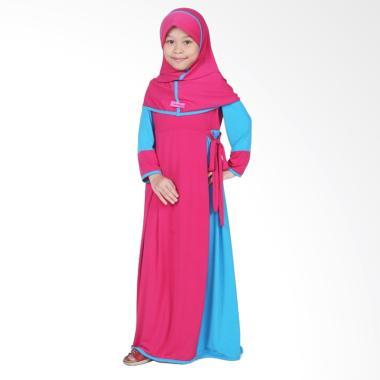 BajuYuli Baju Muslim Gamis Anak Perempuan - Pink Turkish
