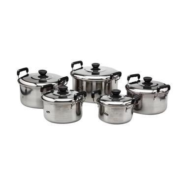 Damian's Kitchen America High Pots 555 Set Panci