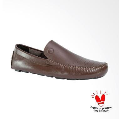 Promo   Diskon Sepatu Kulit Asli Pria Slip On Lismen Terbaru ... d208e9ab24