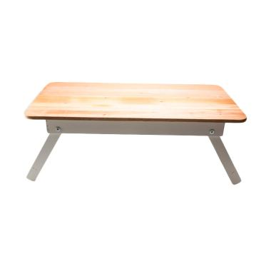 My Choice IF-00095W Solid Wood Top Meja Gambar Anak [meja laptop]
