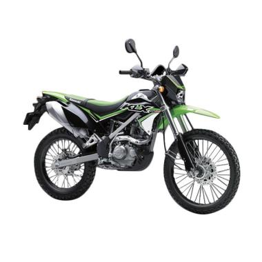 Kawasaki New KLX 150 BF SE Sepeda Motor - Green [OTR Jadetabekser]