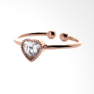 Cocoa Jewelry Sweet Love Cincin - Rose Gold