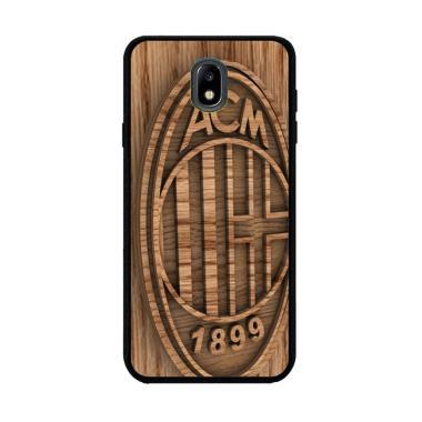 Flazzstore Ac Milan Wood O1207 Cust ... amsung Galaxy J5 Pro 2017