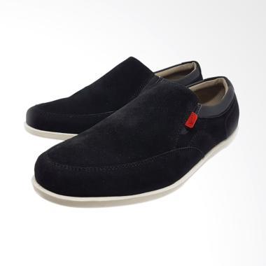 Sepatu Kasual Pria Grocks Tonga Sli ... as Kickers Hummer - Hitam