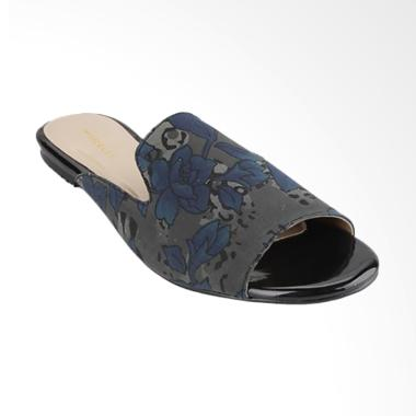 Marelli IP 713 Flat Slip on Sandal Wanita - Navy