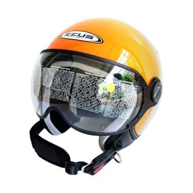 Zeus ZS-210 Helm Half Face - Orange