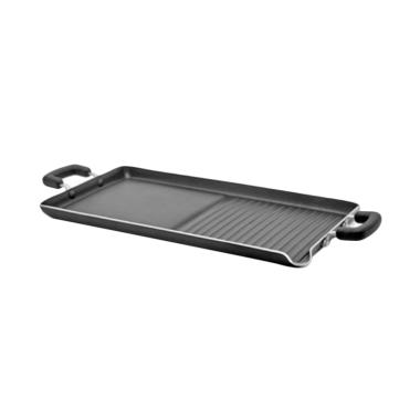 Maxim Grill Double Burner Grill and Griddle Alat Memanggang