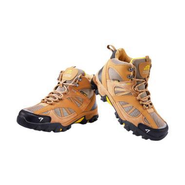 Snta Boots Sepatu Gunung Unisex - Brown Yellow [481]