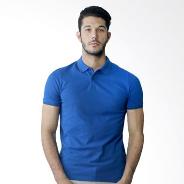 Manzone Bizzare Bestbuy Polo Shirt Pria - Royal Blue