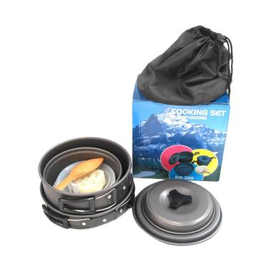 Yangunik DS-300 Camping Cooking Set Panci Masak