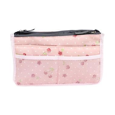 Korean Dual Bag In Bag Organizer /  ... a Multifungsi Motif Polos