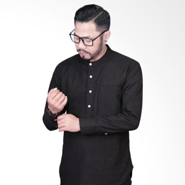 Elevant Black Premium Quality Baju Muslim Pria