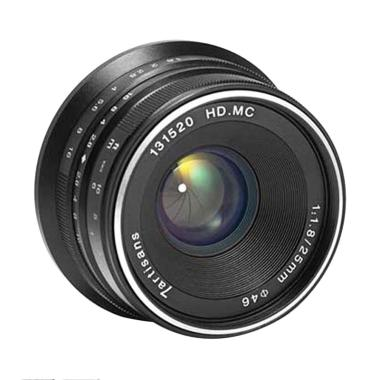 7artisans 25mm F1.8 Lensa Kamera for Mirrorless Canon EOS-M