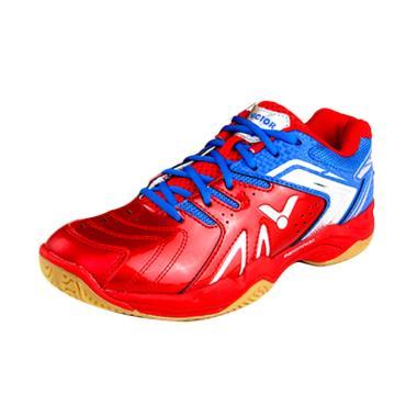 Victor Sepatu Badminton - Red Blue [A 610 II DF]