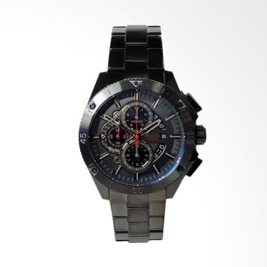 Alexandre Christie Chronograph Stai ... Dark Grey [AC6465MCBIGGR]