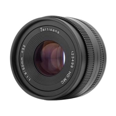 7Artisans 50mm F/1.8 Lensa Kamera for Sony E Mount | Ladang