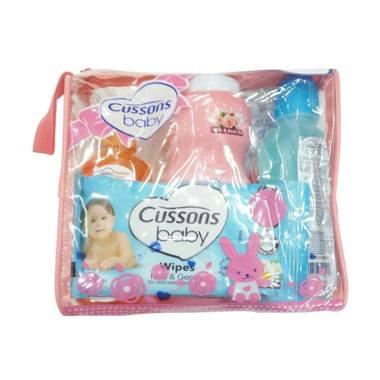 MOMO Cussons Daily Care Medium Bag Set Perlengkapan Bayi - Pink