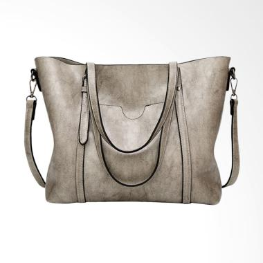 Lansdeal Fashion Crossbody Tas Wanita - Gray