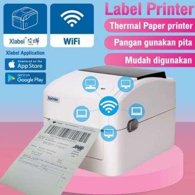 harga Promo XPRINTER 420UW BARCODE PRINTER -THERMAL PRINTER LABEL 110MM WIFIUSB Murah Blibli.com