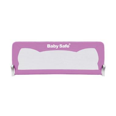 Baby Safe Bedrail Pagar Kasur Anak - Purple [150 cm]