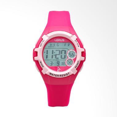Lorus Silicon R2397LX9 Jam Tangan Wanita - Red Pink