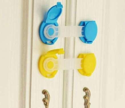 harga Unik Pengaman pelindung perabotan rumah laci lemari bayi anak BB-05 - Kuning Berkualitas Blibli.com