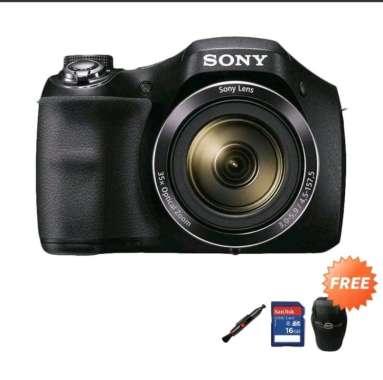 harga Sony DSC H300 kamera prosumer + tas + memory + antigores Blibli.com