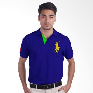 POLO RALPH LAUREN Custom Fit S-S Da … hirt – Blue – X04A5EEM9MR 1054559012