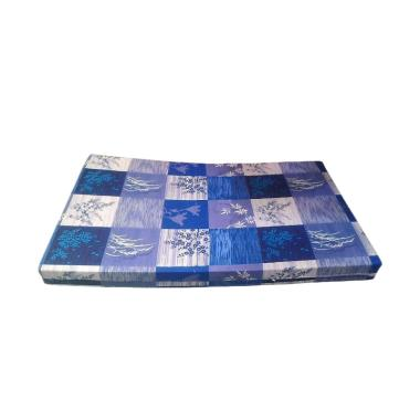 Inoac EON LG D 23 Motif Padi Kasur Busa - Biru [Uk 120 x 200 x 10 cm]