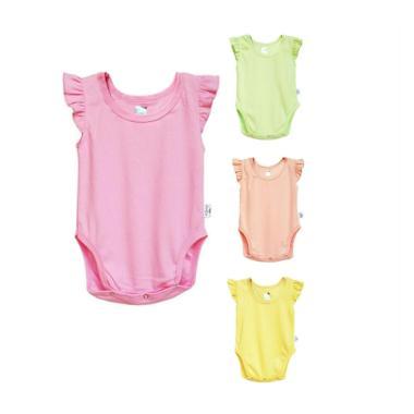 Kazel Ruffle Jumper Baju Anak [4 Baju]