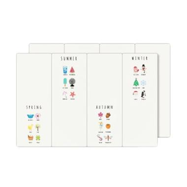 FRIGGIA DS Design Mat Season Fullcolor Alas Lantai [200 X 140 X 4 cm]