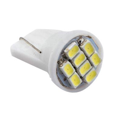 JMS T10 8 SMD 3020 Lampu Senja LED  ... arm White [1 Pair/ 2 pcs]