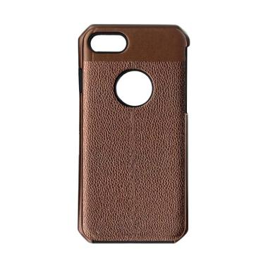 LOLLYPOP Leather Premium Casing for Iphone 8 - Brown